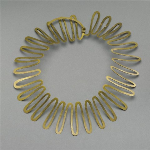 Alexander Calder, Necklace, circa 1938, Sold at Sotheby's, New York, May 13, 2009 for $98,500
