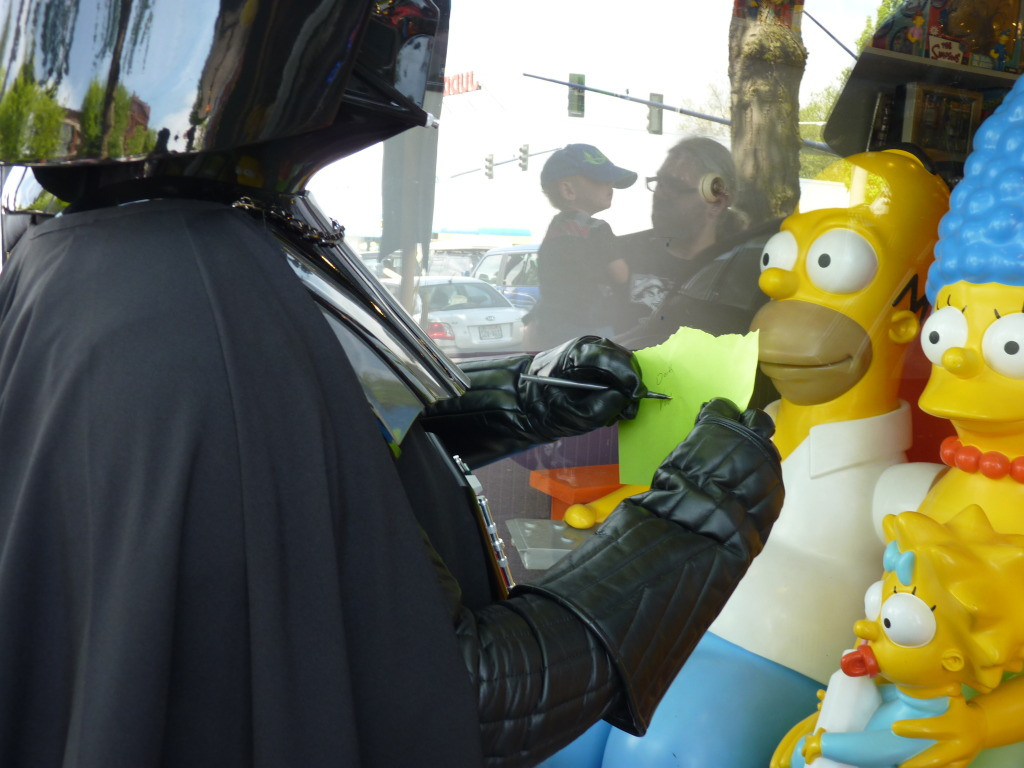 June 2011 Food Drive Event - BobaKhan Toy Store - With the Star Wars 501st, Mandalorians & Rebels