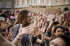 19J-5829 (NOMMAD PHOTO) Tags: espaa canon photography photo spain europe gente demonstration galicia junio manifestacin acorua 19j pactodeleuro spanisrevolution