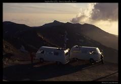 September 1972 - Sierra Nevada, Spain (MrGGBen) Tags: camping mountains fog spain sierranevada 1972 camper spagna campingcar