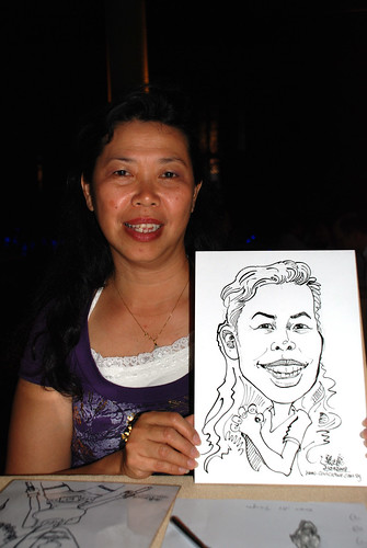 Caricature live sketching Hypercoat Enterprises Pte Ltd 1