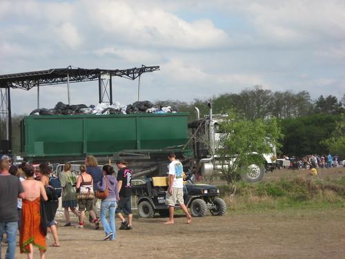waste truck