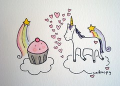 Cupcake and Unicorn