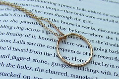 Gold-Filled Eternity Necklace (Jen Nixon - A Blond And A Torch) Tags: circle necklace texas hammered handmade jewelry ring organic eternity goldfilled goldfill jennixondesigns jennifernixon ablondandatorch