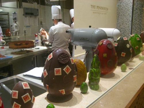 Preparing for Easter at THE PENINSULA HOTEL TOKYO
