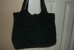 Green Celtic Tote