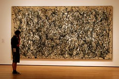 "on the ""guide"" (Dreamer7112) Tags: nyc newyorkcity people ny newyork museum museu manhattan moma muse museumofmodernart explore museo pollock iny momany jacksonpollock novaiorque  onenumber31 museumofmodernartnewyork museumwatchers museumwatcher museumofmodernartny ontheguide"