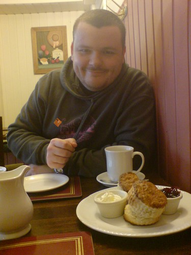 Me and my scone