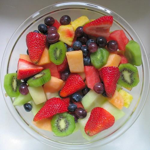 Come servire la frutta fresca