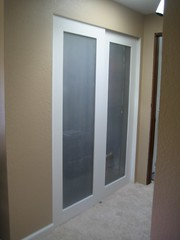 2 completed doors
