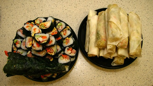Sushi & Popiah