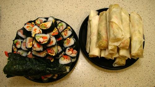 Sushi & Popiah
