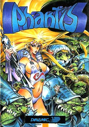 Phantis (caratula del juego, Azpiri)