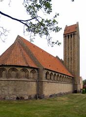 p.v.jensen-klint, gedser kirke, 1913-1914 (seier+seier) Tags: building brick tower church yellow arquitetura architecture
