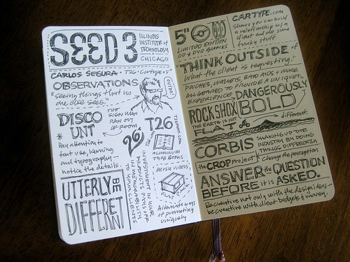 SEED 3 Sketchnotes: First Spread