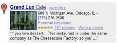 Google Map Reviews Snippets - Detail