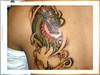 tatuagem dragao nas costas TARZIA TATTOO -