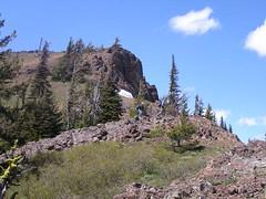 Jim and Gary coming down the ridge
