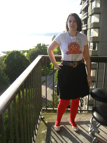 Famous Red Tights