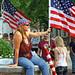 Lady & Flag