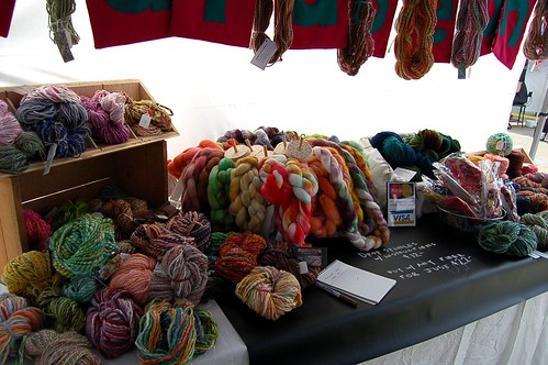 my yarn + fiber at renegade