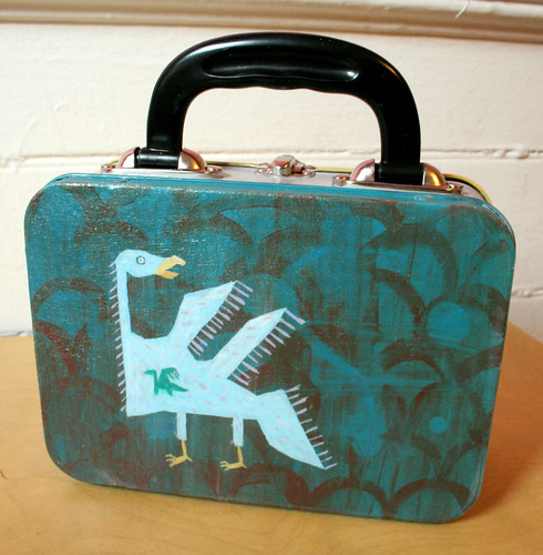 Hungry Monsters Lunchbox- back
