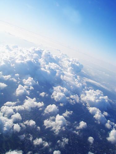Paris' skies