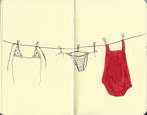 clothesLine by little drawings.