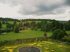 The Gardens at Chatsworth, Derbyshire (UGArdener) Tags: bridge england english gardens unitedkingdom britain derbyshire fountains borders chatsworth prideandprejudice englishtravel