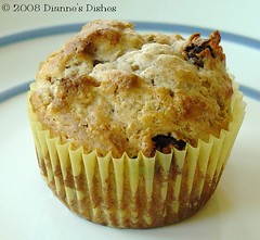 Apple Raisin Sconey Muffins: