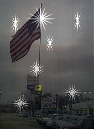 Big Ole Glory Star Shine