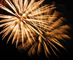 July 1st Fireworks (clickclique) Tags: sky brown night beige fireworks explosion bang soe breathtaking shiningstar flickr1 canons3is beautifulcapture heartsaward