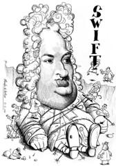 SWIFT, Jonathan (Morales de los Ríos) Tags: writers caricaturas philosophers caricatures escritores filósofos
