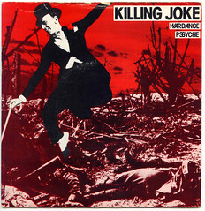KILLING JOKE Wardance  / Psyche (Blurred Crusade) Tags: uk records rock md inch punk post killing joke goth 7 seven single indie damage record 1980 rare psyche alternative 540 malicious wardance
