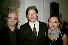 Derek O'Connor, Crispin Glover and Mara LaFontaine