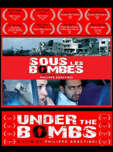 Pod bombami / Sous les bombes (2007) PL.TVRip.x264 / Lektor PL