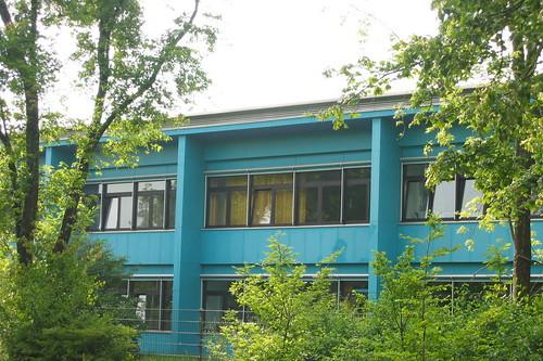 Schule in der Amerikanischen Siedlung (Loibl, 1955)