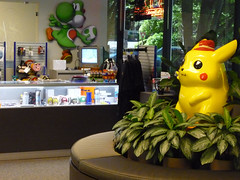 Nintendo Customer Center in Redmond