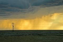 sunset storm (AgusValenz) Tags: sunset summer sky storm primavera electric clouds landscape atardecer spring nikon paisaje cielo soviet nubes verano tormenta coolpix centralasia kazakhstan eurasia electrico summerstorm atyrau p80 explored  xpa  expatriado