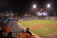 Ballpark at Night (Bill Keller) Tags: sf sanfrancisco travel baseball stadium giants mets mccoveycove