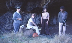 Archaeologists at Klasies River Mouth Caves, South Africa, 1979 (gbaku) Tags: pictures africa history archaeology rock photo rocks photos african south picture historic caves photographs photograph afrika historical cave anthropologie shelter prehistoire prehistoric archaeological archeology anthropology shelters africain afrique excavation geschichte prehistory africaine arqueologa excavations archeologia archaeologist preistorico prhistoire archaeologists preistoria  urgeschichte afrikas vorgeschichte