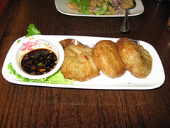 SriPraPhai: Fried vegetable (chive) dumpling