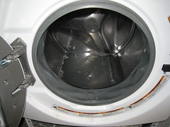 Water-logged Washer, Whirlpool Duet Sport Washer