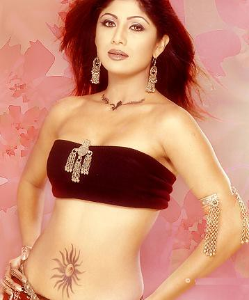 India women Actress with Tattoo on Belly