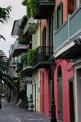 Beautiful colors (*Diane) Tags: houses colors french nikon balconies quarter nola d300