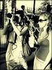 Shooting Star (Ekler) Tags: camera bw woman women explore damncool ekler oldschooldigital olympusfe280 womenexpression soloha