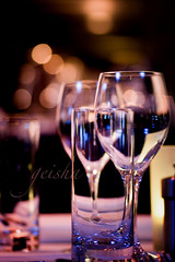 glass half full... (~ geisha ~) Tags: water glasses wine bokeh walshbay sebel hbw ehbd frontrestaurant