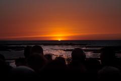 Puesta de sol en Santa Catalina