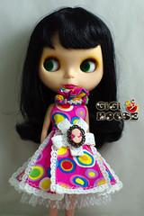 Pink POP ART Queen Dress