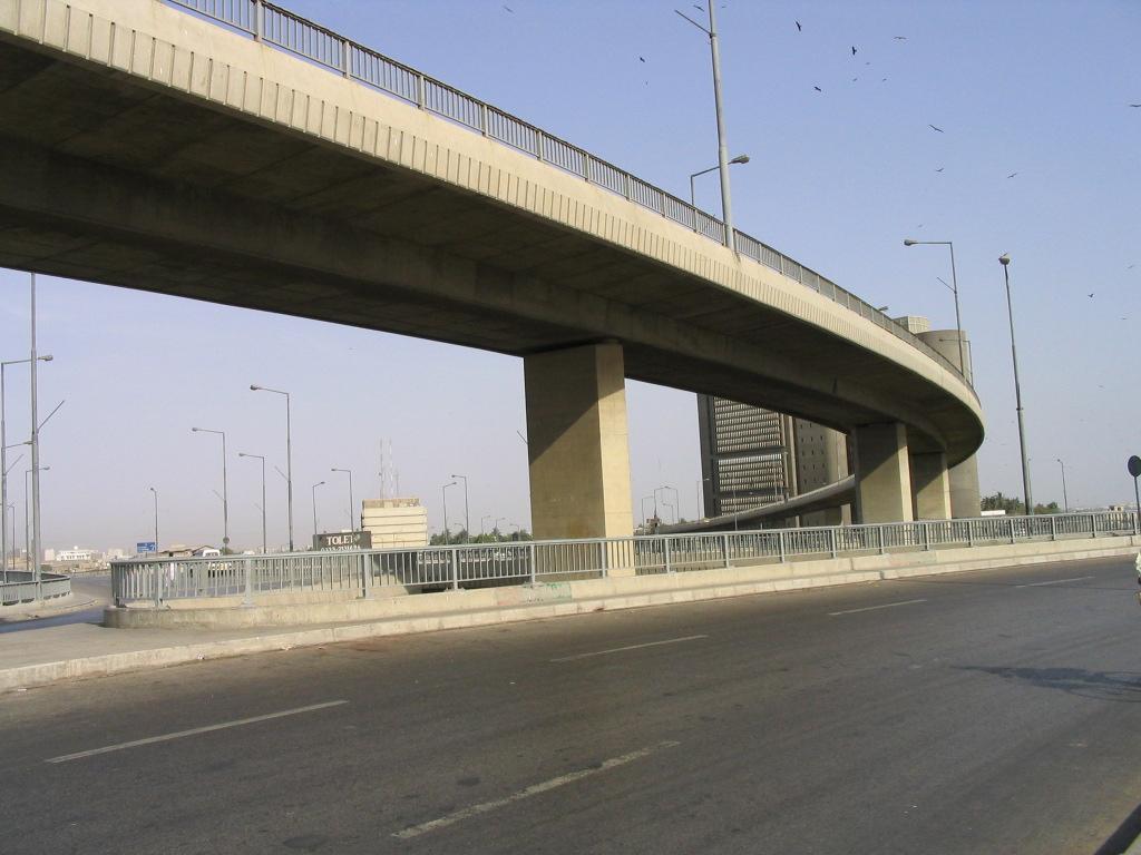 Jinnah Bridge/karachi Port